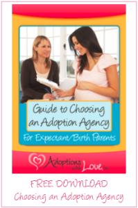choosing an adoption agency